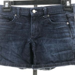 banana republic roll up jean shorts sz 25